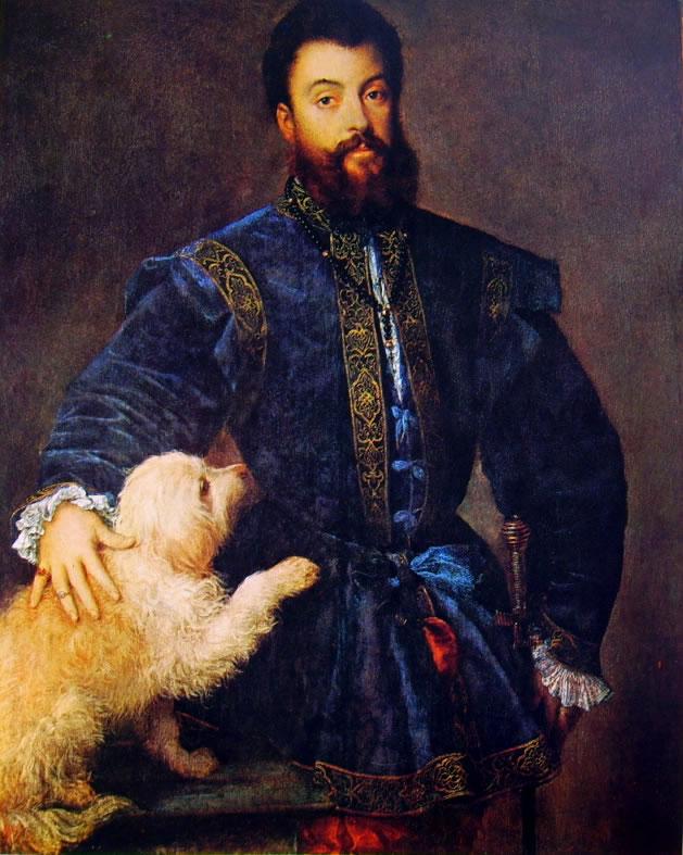 Tiziano: Ritratto di Federico II Gonzaga