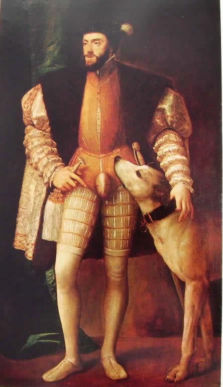 Tiziano: Ritratto di Carlo V