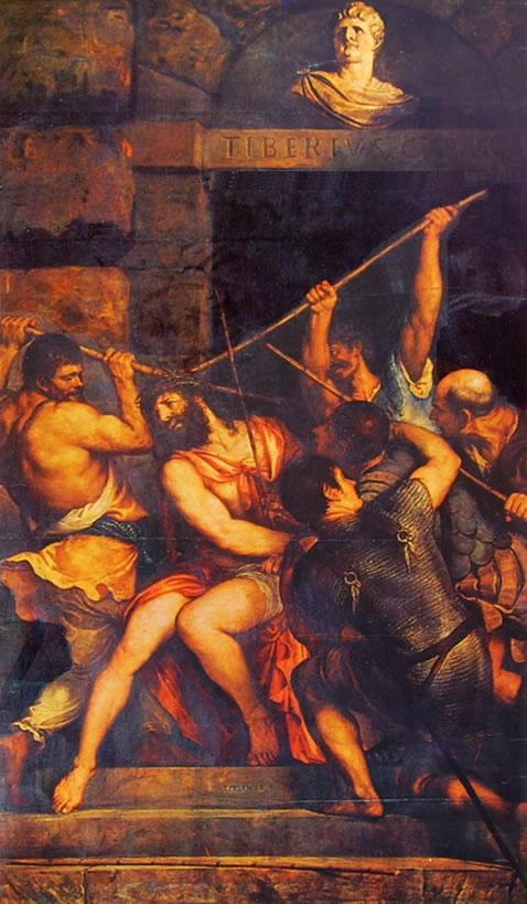 Tiziano: Incoronazione di spine (Louvre)