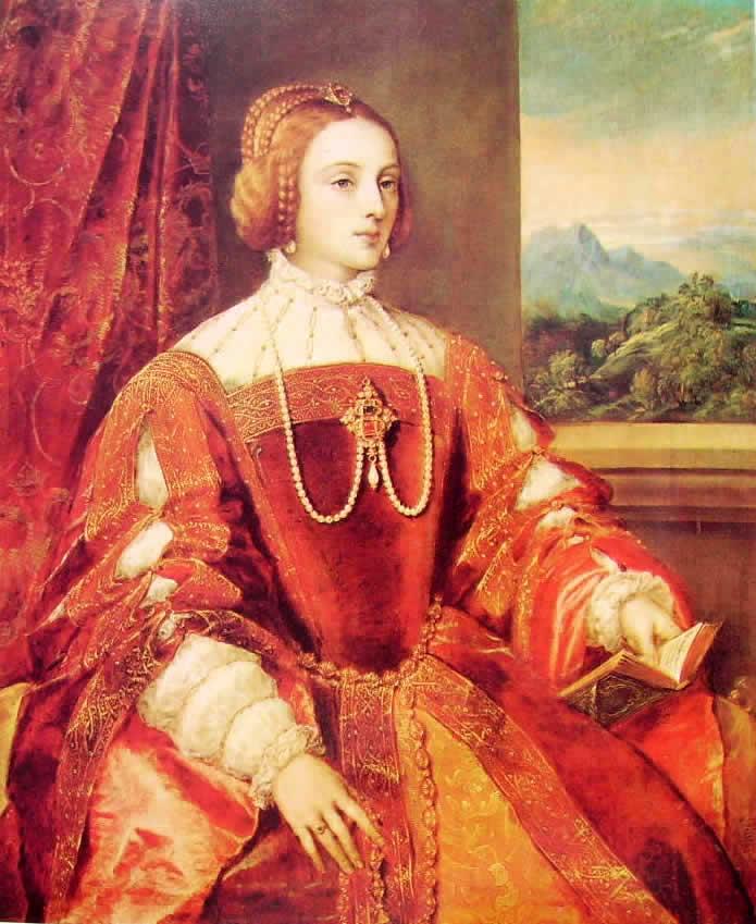 Tiziano: Ritratto di Isabella di Portogallo