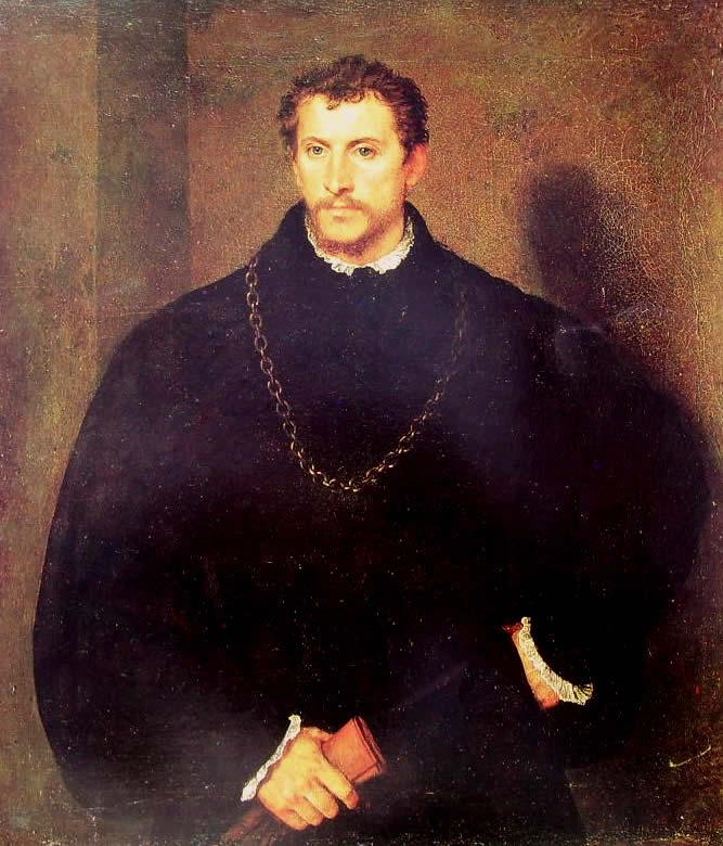 Tiziano: Ritratto d'uomo, o il giovane inglese