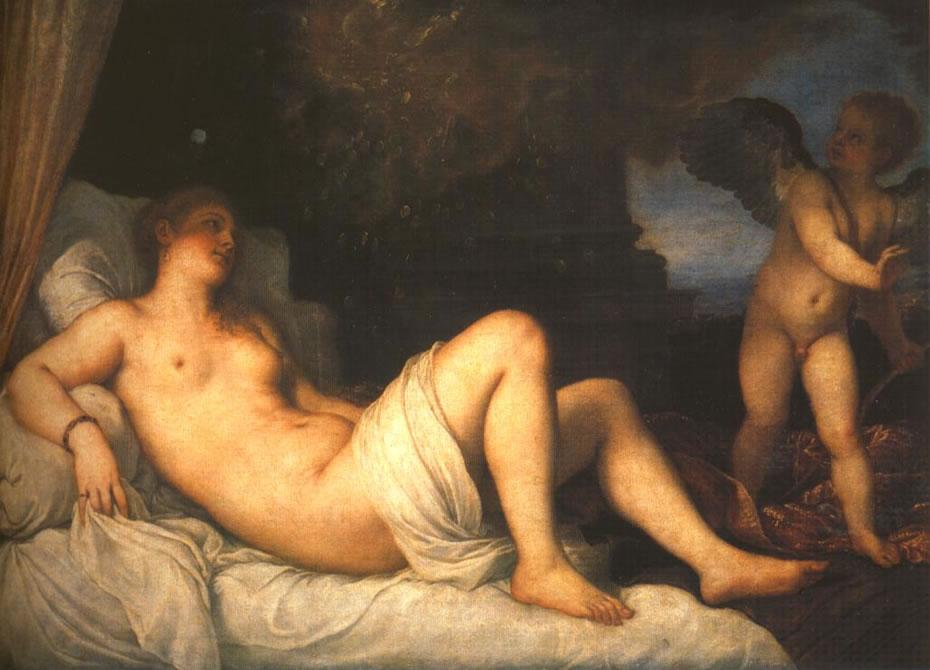 Tiziano: Danae (Capodimonte)