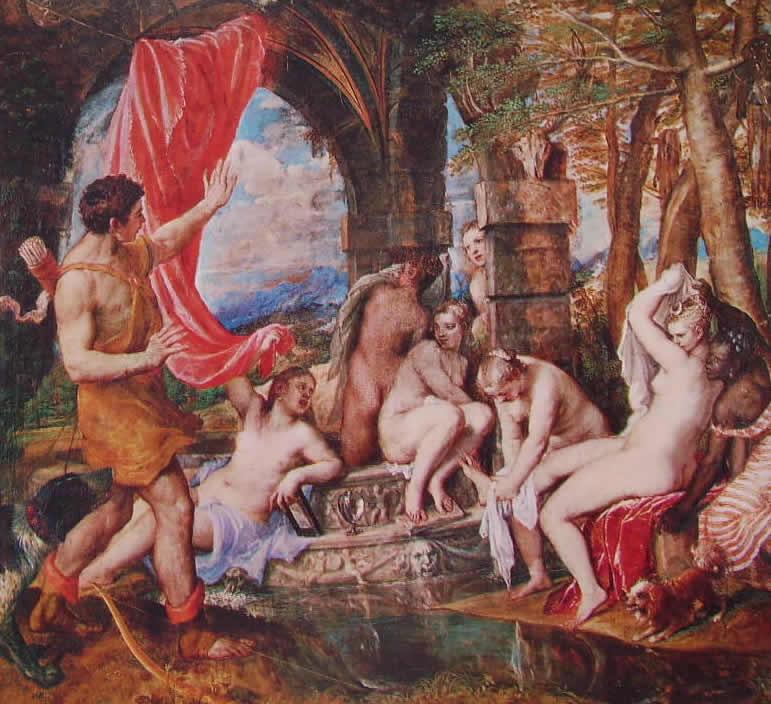 Tiziano: Diana e Atteone