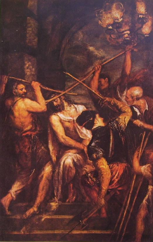 Tiziano: L'incoronazione di spine (Monaco)