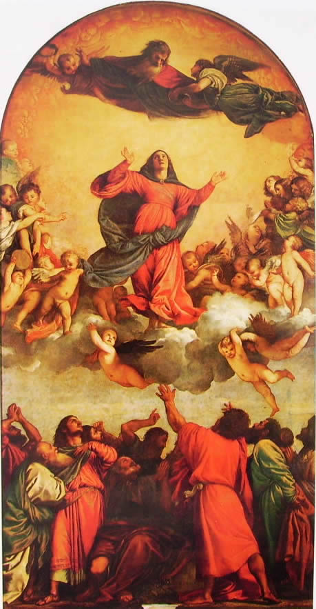 Tiziano: L'Assunta (Venezia)