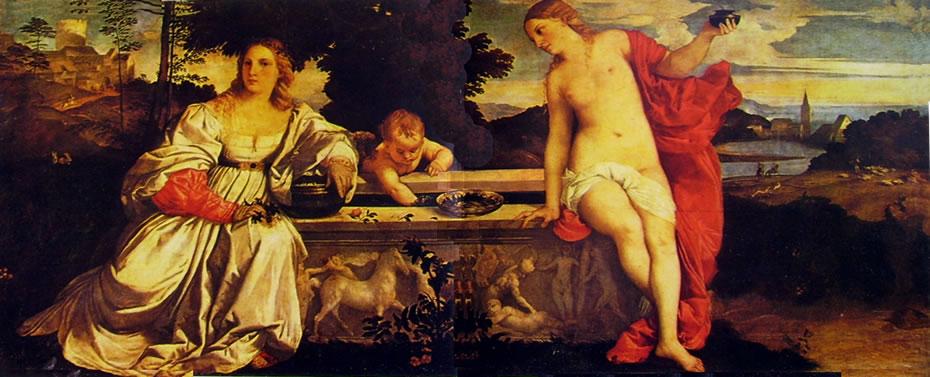 Tiziano: L'amor sacro e l'amor profano