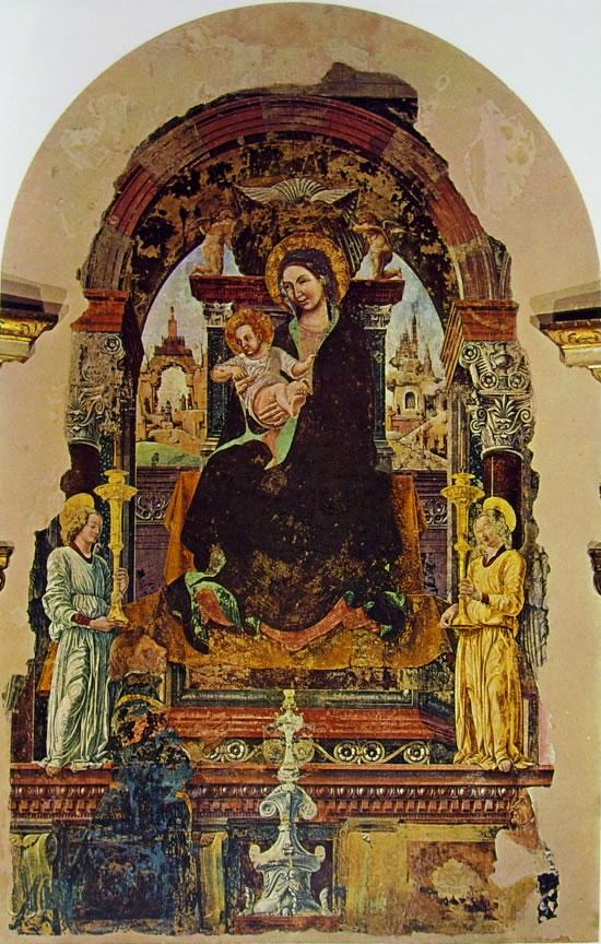 Francesco del Cossa: Madonna del Baraccano