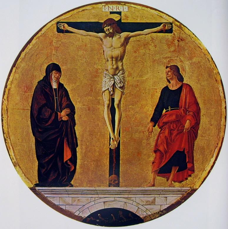 Francesco del Cossa: La Crocifissione (Washington)