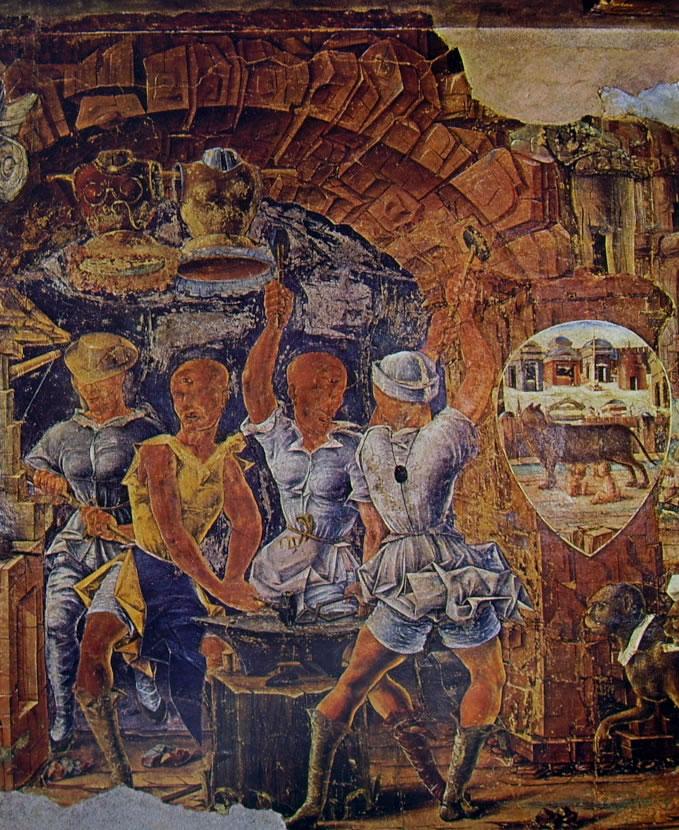 Ciclo Schifanoia - Il Trionfo di Vulcano