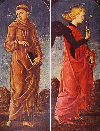 San Francesco d'Assisi e l'Angelo Annunciante