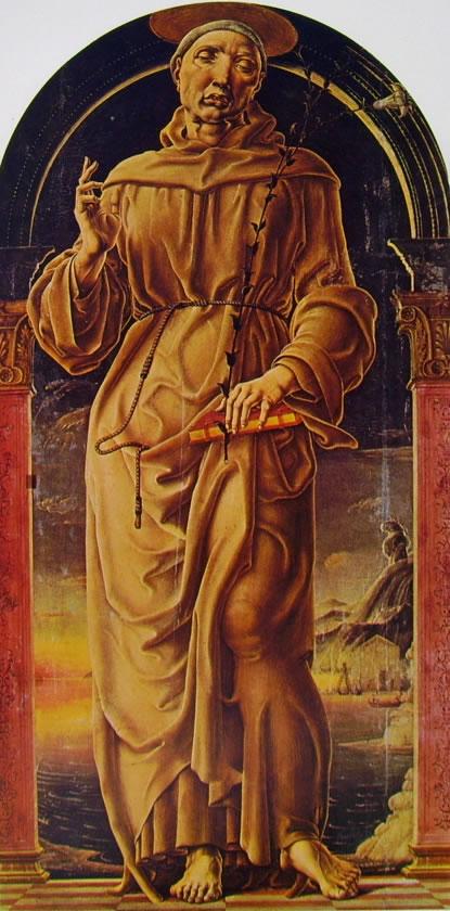 Cosmè Tura: Sant'Antonio da Padova