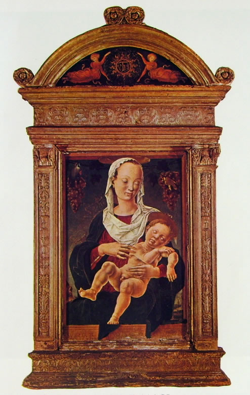 Cosmè Tura: Madonna col bambino dormiente