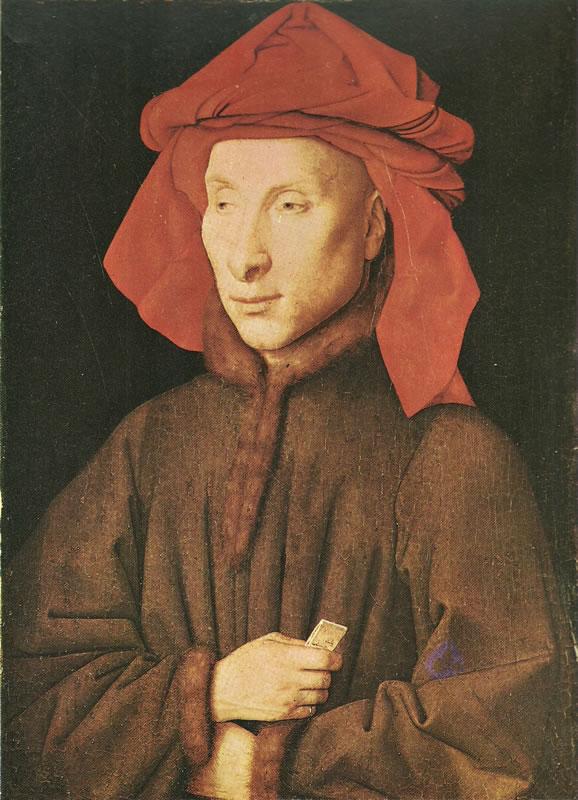 Jan van Eyck:Ritratto di Giovanni Arnolfini