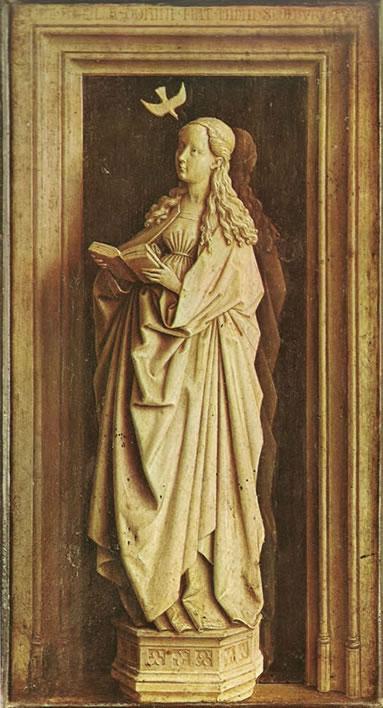 La Vergine annunziata