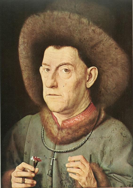 Hubert van Eyck:L'uomo dal garofano