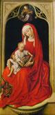 04 Van der Weyden - Madonna in trono o Madonna di Duran