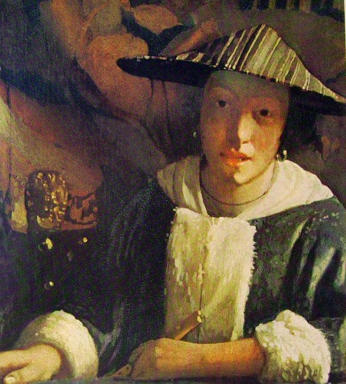 Jan Vermeer: Ragazza con flauto