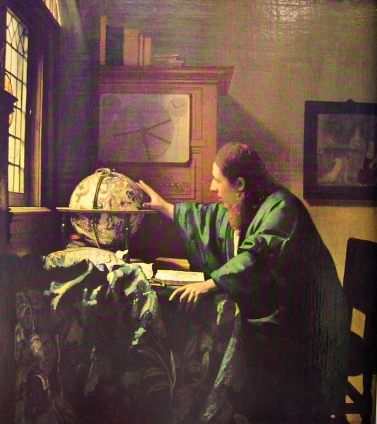 Jan Vermeer: Astronomo