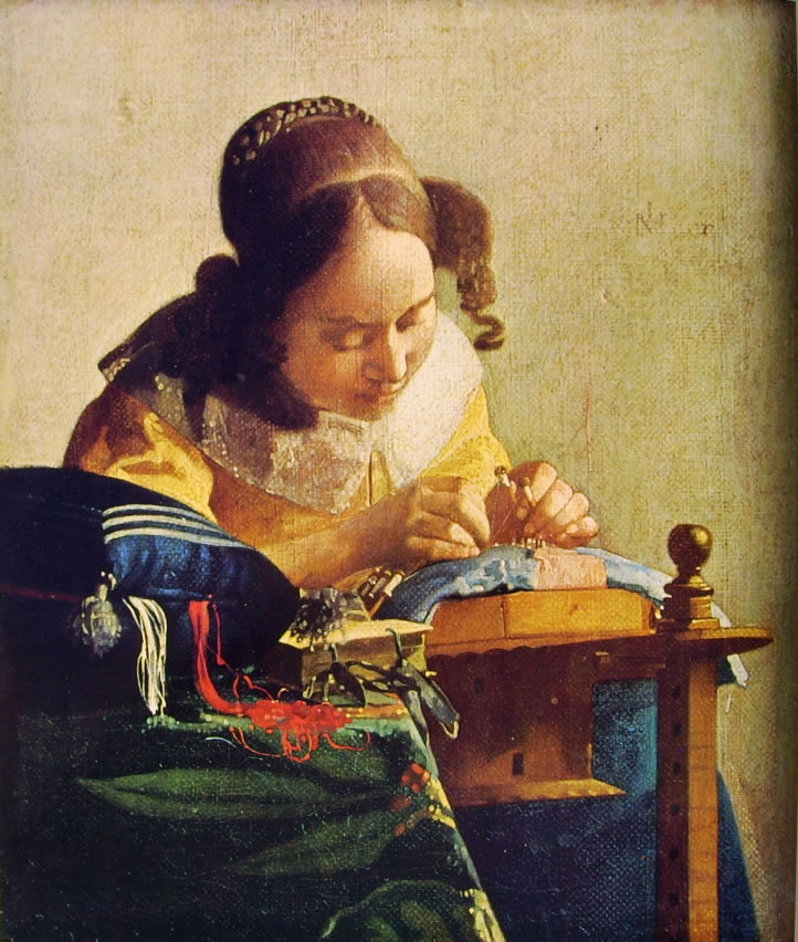 Jan Vermeer: Merlettaia