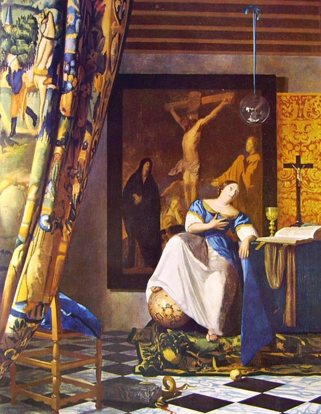 Jan Vermeer: Allegoria della fede