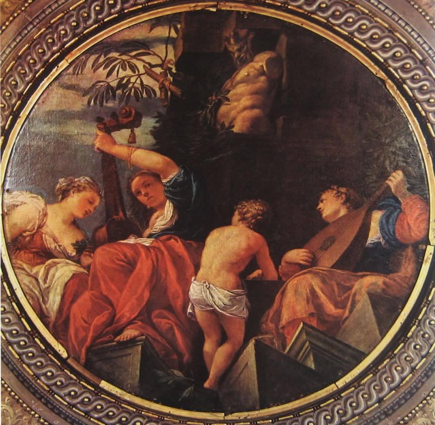 Il Veronese: Dipinti per la libreria vecchia di San Marco - La musica