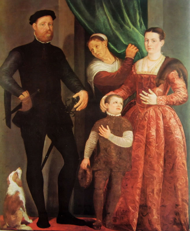 Il Veronese: Ritratto di Famiglia