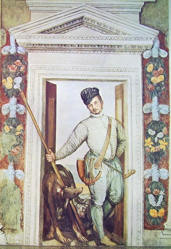 Il Veronese: Affreschi di Maser - Dipinti nell'ultima stanza