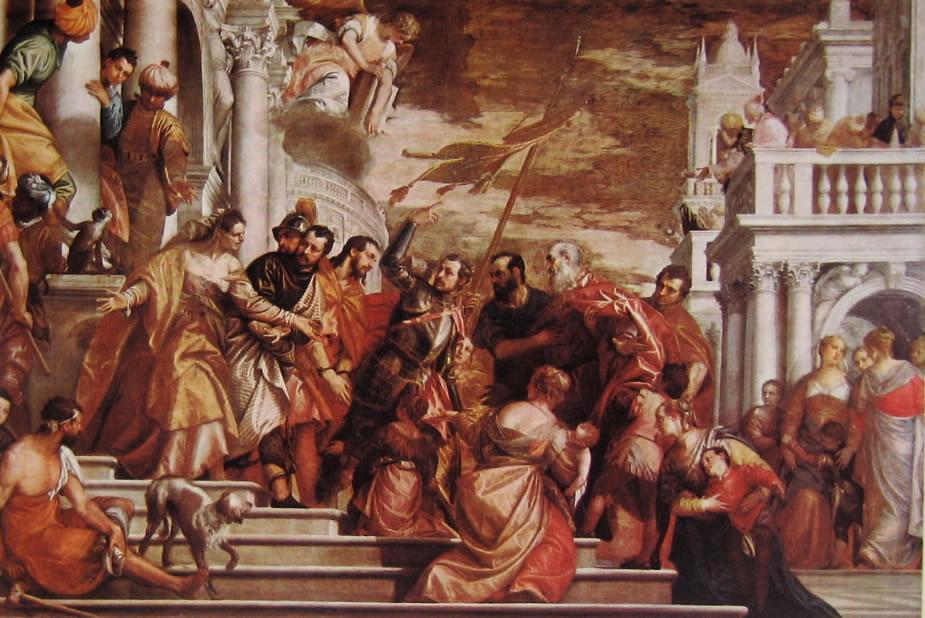 I santi Marco e Marcelliano esortati da San Sebastiano al martirio