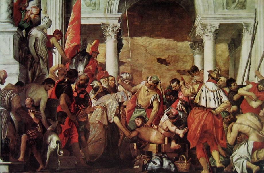 Il Veronese: Il martirio di San Sebastiano