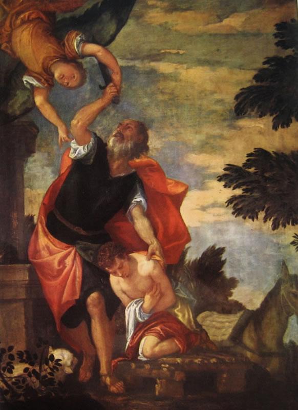 Il Veronese: Il sacrificio di Abramo