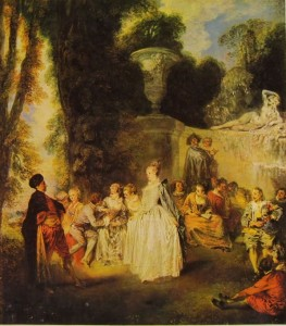 Feste veneziane, cm. 56 x 46, anno 1719, National Gallery of Scotland, Edimburgo.