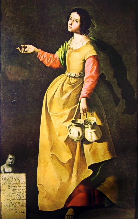 Francisco Zurbarán:Santa Rufina