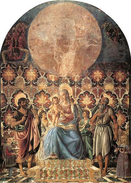 Andrea del Castagno: Madonna col Bambino e santi (Contini-Bonacossi)