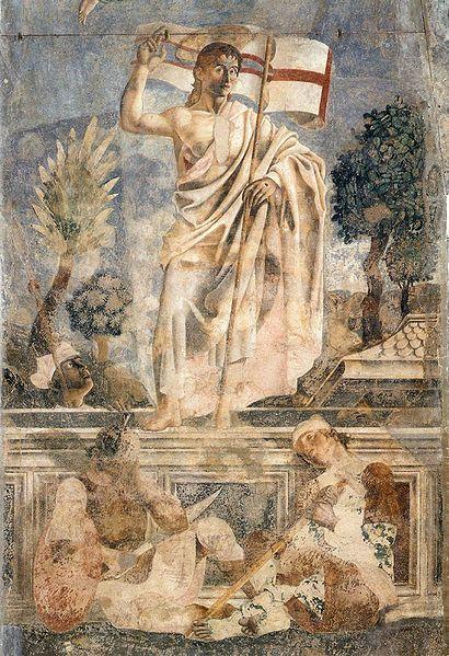 Andrea del Castagno: La Resurrezione (Cenacolo di Sant'Apollonia)
