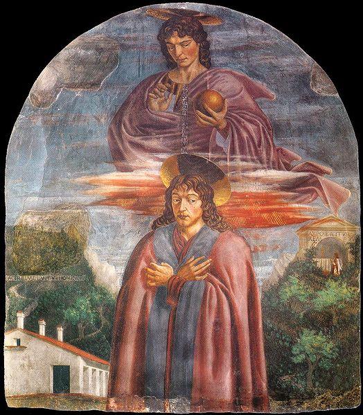 Andrea del Castagno: San Giuliano e il Redentore