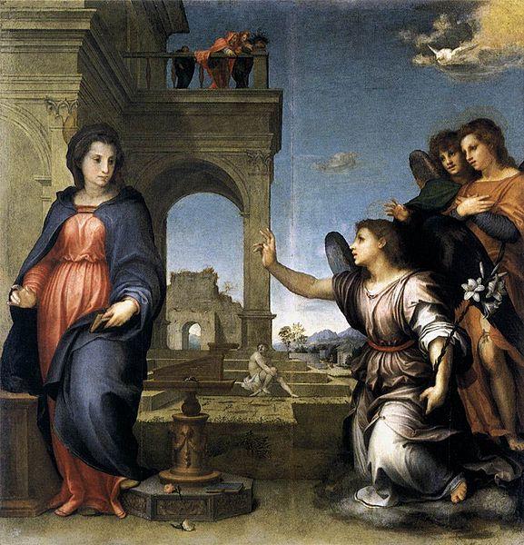 Andrea del Sarto: Annunciazione di San Gallo