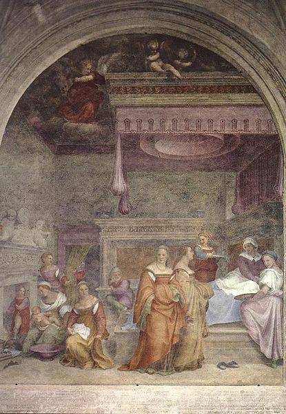 Andrea del Sarto: Natività della Vergine