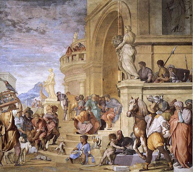 Andrea del Sarto ed Alessandro Allori:Tributo a Cesare