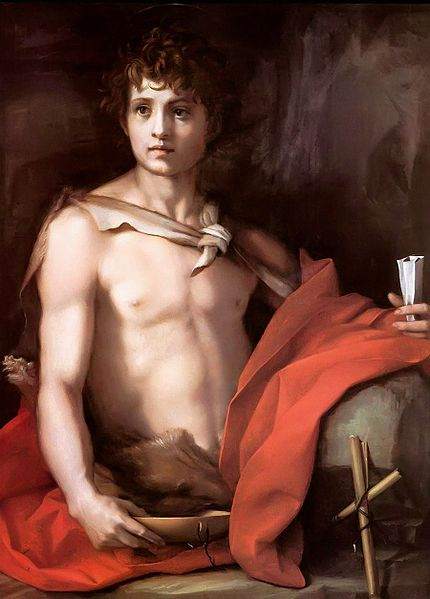 Andrea del Sarto: San Giovannino (Galleria Palatina)