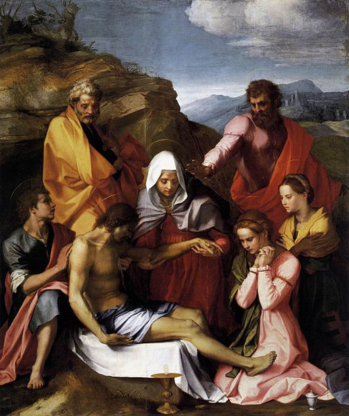 Andrea del Sarto: Pietà di Luco (Galleria Palatina)