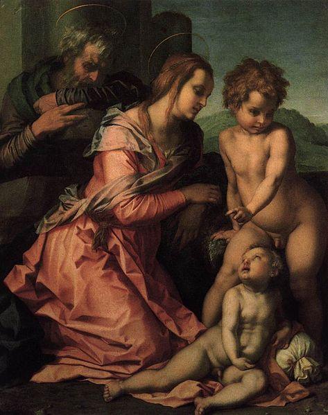 Andrea del Sarto: Sacra Famiglia Bracci