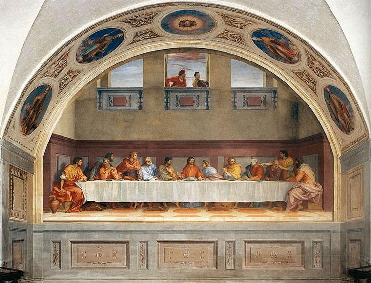 Andrea del Sarto: Ultima cena (Museo del Cenacolo)