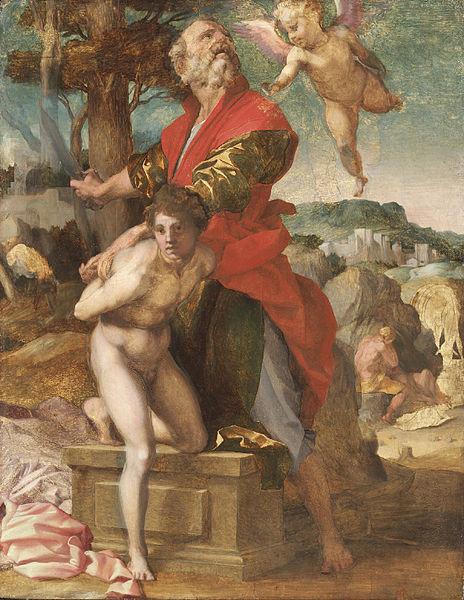 Andrea del Sarto: Sacrificio di Isacco