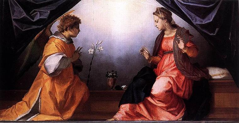 Andrea del Sarto: Annunciazione Della Scala