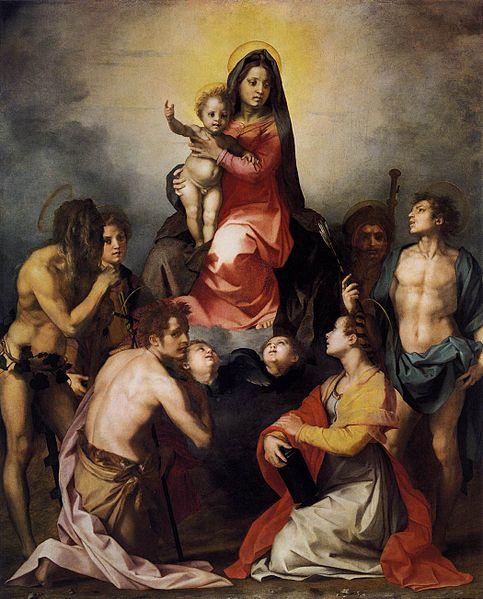 Andrea del Sarto: Pala di Gambassi