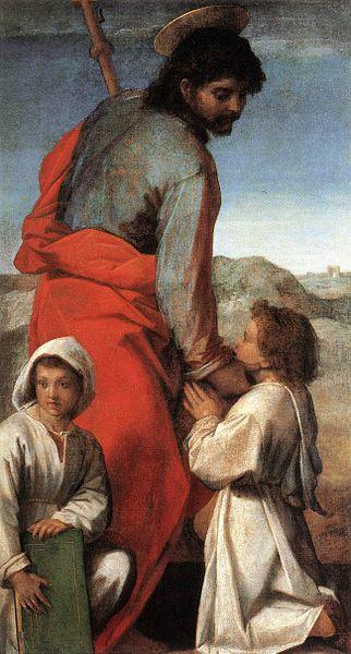 Andrea del Sarto: San Jacopo con due fanciulli