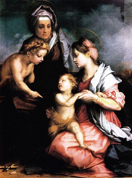 Andrea del Sarto: Sacra Famiglia Medici
