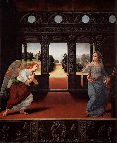 Lorenzo Credi: Annunciazione (Galleria degli Uffizi)