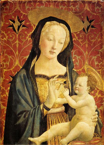 Domenico Veneziano: Madonna col Bambino (Madonna Berenson)