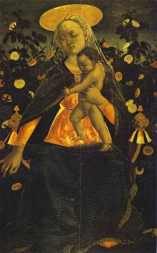 Domenico Veneziano: Madonna del Roseto
